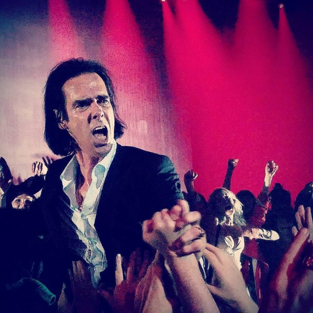 Nick Cave was pretty damn good tonight zenith rockstar parishellip