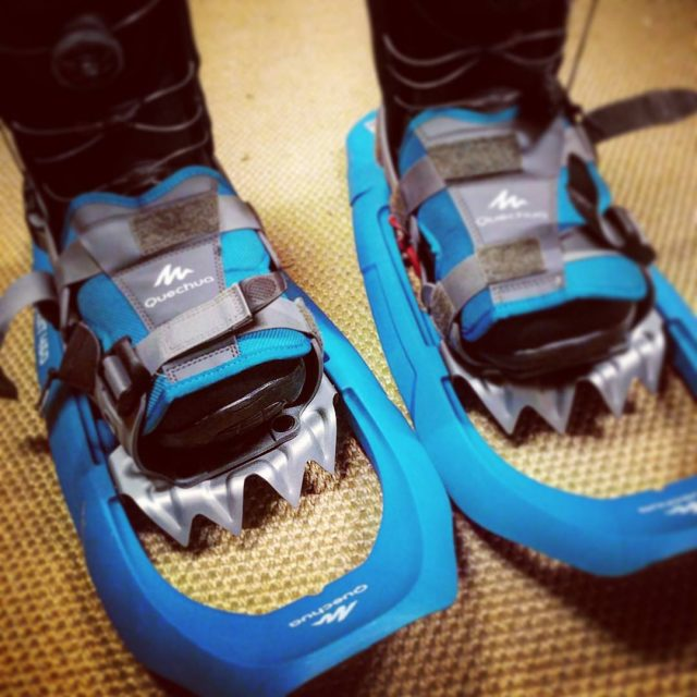 Ready for a new type of adventure itreallyissnowingsomewhere snowboarding snowshoehellip