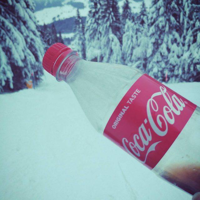 A CocaCola moment moments ski switzerland boardingtillithurt ifell soithurt snowhellip